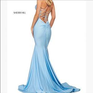 Sherri Hill 53879 Light Blue
